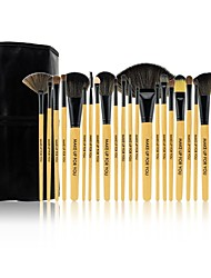 Make-up For You® 24pcs Makeup Brushes set Pony/Horse Hair  Limits bacteria/Professional Shadow/Blush/Lip/Powder Brush