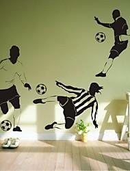 Wandaufkleber Wandtattoo, modernen Fußball-PVC-Wandaufkleber