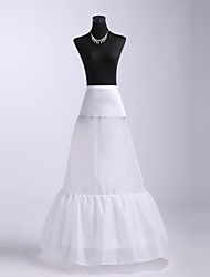 cheap -Wedding Party / Evening Slips Spandex Tulle Floor-length A-Line Slip Classic & Timeless with