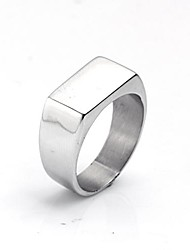 cheap -Personalized Gift Men's Ring Stainless Steel Engraved Jewelry