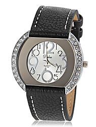 Women's Diamante Case PU Band Quartz Wrist Watch (Assorted Colors) Cool Watches Unique Watches