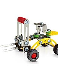 Недорогие -волшебный модель DIY интеллектуальное развитие нержавеющей сплава собраны машиностроительный завод погрузчик игрушка (75 шт)