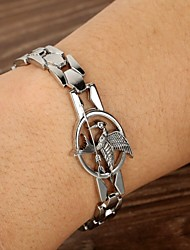 Fashion Hunger Game Humming Bird Zinc Alloy Bracelets