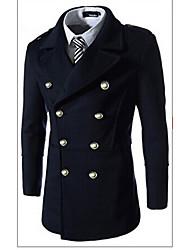 Джордж мужской внешней торговли оптовая совместное тонкий двубортные windcoat
