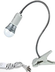 cheap -E27 Screw Lamp Holder Cable Switch LED Table Lamps Clamp (12V-240V)(bulb not included)