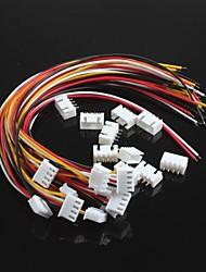 Недорогие -xh2.54-4p одна голова провод с проводков (10шт)