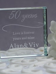 Cake Topper Crystal Wedding Anniversary With Gift Box