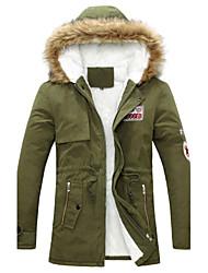 economico -ordinaryroad casuali hoodie termico cotone imbottito vestiti sottili degli uomini