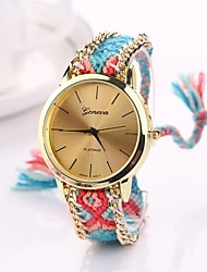 cheap -Women Big Circle Dial  National Hand Knitting Brand Luxury Lady Watch C&D-281 Cool Watches Unique Watches