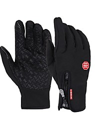 cheap Sports & Outdoors-Sports Gloves Bike Gloves / Cycling Gloves / Touch Gloves Windproof / Waterproof / Keep Warm Full finger Gloves Silicon Rubber / 100% Polyester Ski / Snowboard / Cycling / Bike / Fitness Unisex