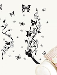 decalques de parede adesivos de parede borboleta do estilo adesivo decorativo