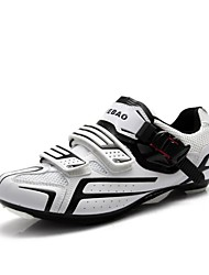 Tiebao Tênis Tênis para Ciclismo Sapatos para Ciclismo Homens Mulheres Unisexo Ao ar Livre Bicicleta de Estrada Pele PVC Malha Respirável