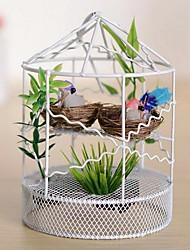 Недорогие -голосовые Моделирование малых Birdcage железа пластмассовые игрушки (Random доставки)