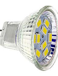 cheap -GU4(MR11) LED Spotlight 9 SMD 5730 430 lm Warm White Cool White DC 12 V