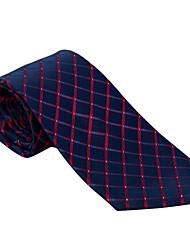 festa dos homens / noite casamento borgonha&azul marinho verificado gravata