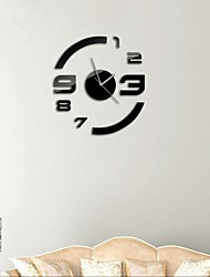 cheap -Modern/Contemporary Acrylic Round Indoor,AA Wall Clock