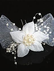 economico -pettini in stoffa fiori copricapo classico stile femminile
