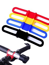 WEST BIKING® 5 Pieces Cycling Cable Ties MTB High Elastic Silicone Bike Tie Bicycle Lights holder Multifunction Straps
