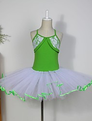 cheap -Kids' Dancewear / Ballet Dresses / Skirt / Tutus Cotton / Tulle Sleeveless
