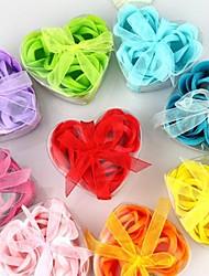 Heart-shaped Soap Roses(Random Colors)