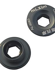 Mixim 18 millimetri in lega di alluminio di titanio mountain bike vite di copertura manovella guarnitura