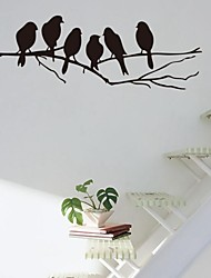 Stickers muraux Stickers muraux, branche et les oiseaux stickers muraux PVC