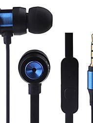 JTX-jl580 3.5mm antibruit micro écouteurs intra-auriculaires pour iPhone et autres
