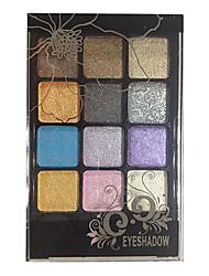 billige -12 farver Øjenskygger / Pudder Øjne Daglig makeup / Festmakeup / Rygende makeup Makeup Kosmetiske
