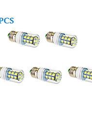E26/E27 Ampoules Maïs LED 27 diodes électroluminescentes SMD 5050 Blanc Chaud Blanc Froid 1050lm 3500/6000K AC 85-265V