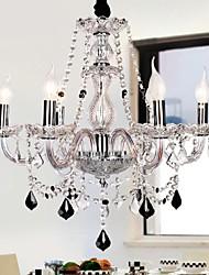 velas ofrecido lujo 6 luces araña