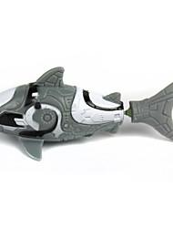 Недорогие -Искусственная рыбка Водная игрушка Игрушки Водонепроницаемый Рыбки Shark пластик 1 Куски Детские Рождество День рождения День детей