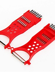 Недорогие -нож для очистки овощей, пластик 16 × 7 × 1 см (6,3 × 2,8 × 0,4 дюйма)