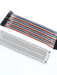 DuPont Line 40P Male To Female + Breadboard SYB-120