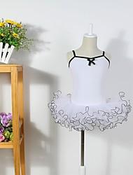 economico -Abbigliamento da ballo per bambini Abiti Tutù Per donna Per bambini Addestramento Cotone Tulle Senza maniche