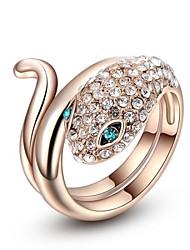 Ring Women's Rose Gold Rose Gold 6 / 7 / 8 Pink Gold