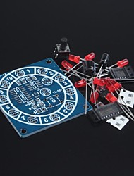 cheap -Electronic Wheel Of Fortune Kit / Fun Electronic Kits / Electronic Dice / DIY Electronic Production