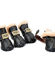 Недорогие -хлопчатобумажные носки&ботинки для собак (ассорти размер случайный цвет)