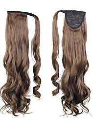 cheap -Excellent Quality Synthetic Clip In Ponytail 26 Inch Long Curly Hairpiece