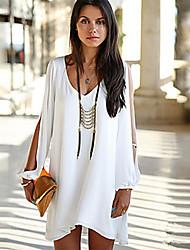 Лето женщин вскользь свободные платья подходят