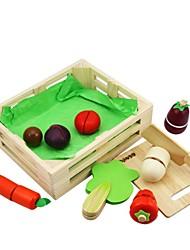 Недорогие -benho каучуковое дерево растительное установить деревянную роль играет игрушку