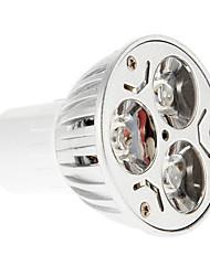 Недорогие -15-20/30-35 lm GU10 Точечное LED освещение 3 светодиоды Синий Красный AC 85-265V