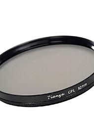 tianya® 82 milímetros CPL filtro polarizador circular para canon 16-35 24-70 lente ii