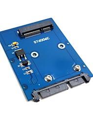 "Недорогие -Тонкий Mini PCI-E msata SSD для 2.5 ""SATA 3.0 22pin адаптер Жесткий диск ПОСТУПИВ"
