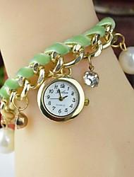 cheap -Handcee® Simple Design Women PU Watch Fashion Decoration Lady Bracelet Watch