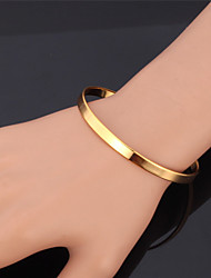 cheap -Women's Bangles / Bracelet - Platinum Plated, Gold Plated Fashion Bracelet Golden For Christmas Gifts / Wedding / Party