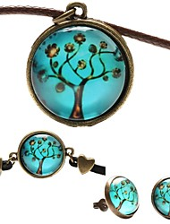 cheap -Women's Jewelry Set Earrings / Necklace / Bracelets & Bangles - Blue For Party / Birthday / Engagement