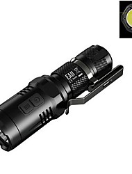 cheap -Nitecore EA11 LED Flashlights / Torch LED 900 lm 4 Mode Cree XM-L2 U2 Cree Impact Resistant Nonslip grip Rechargeable Waterproof Super