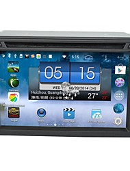 baratos -android 4.4 dual-core DVD player do carro, 6.2 polegadas touchscreen capacitivo com gps, ATV, wi-fi (ln-5602)