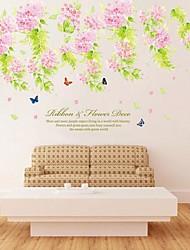miljømæssige aftagelig blomstre pvc væg sticker