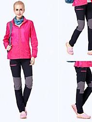 abordables -Mujer Pantalones para senderismo Al aire libre Secado rápido, Listo para vestir, Antiestático Táctel, Shoftshell Pantalones /